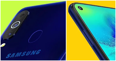 Samsung Galaxy M40 camera setup