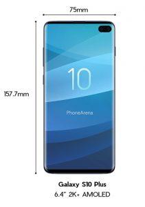 Samsung Galaxy S10 Plus design